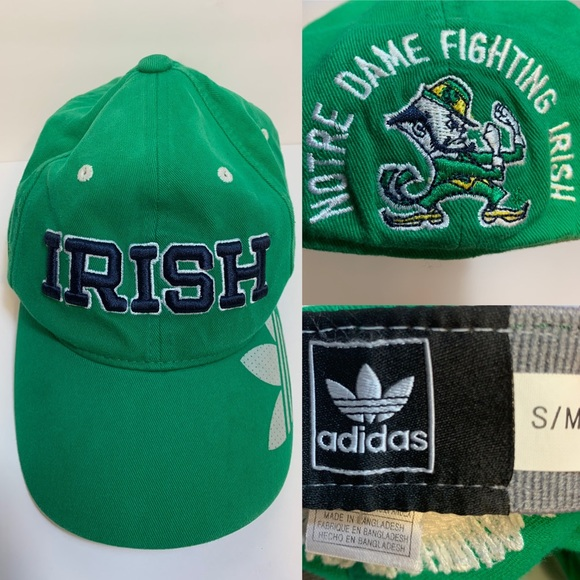 adidas Other - adidas | Fighting Irish Flexfit Cap | Size S/M